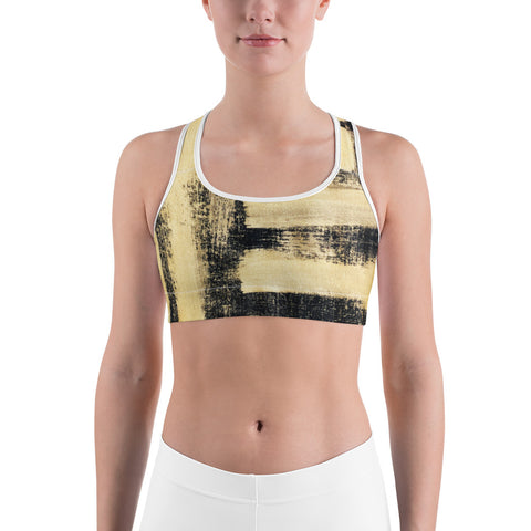 Imperfect Gold Sports bra