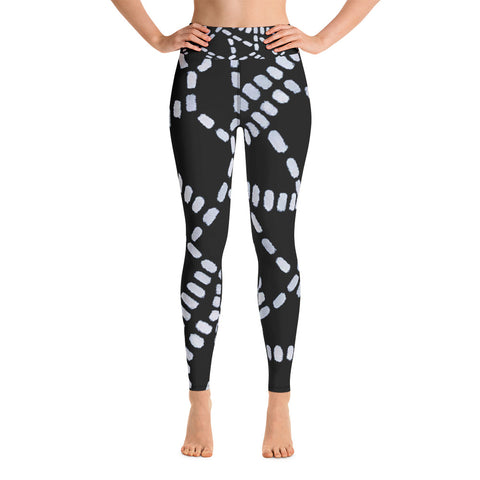 Imperfect Black SF Yoga Leggings