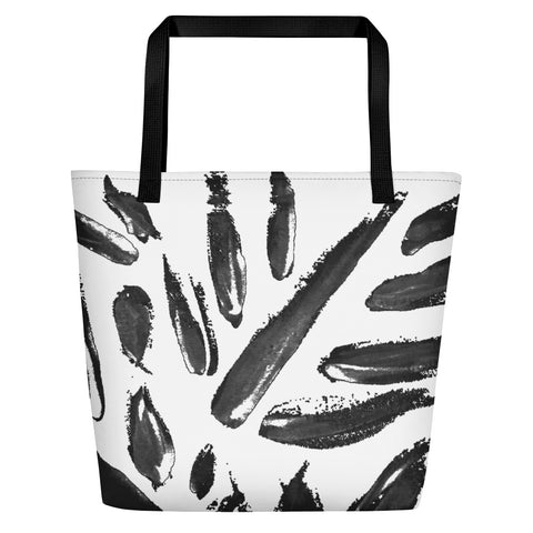 Imperfect Leaves Beach Bag