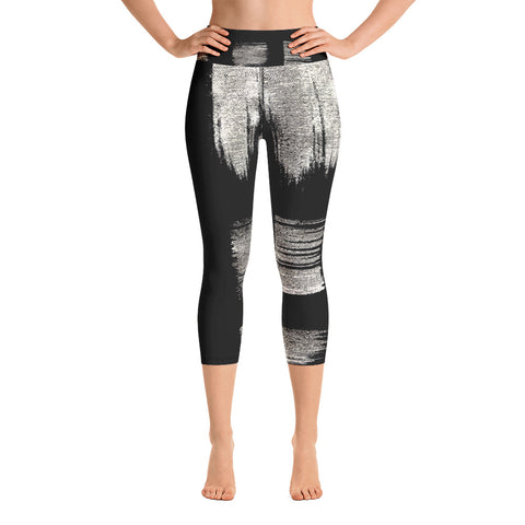 Imperfect Gold 22 Yoga Capri Leggings