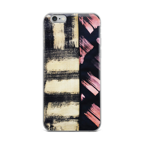 Imperfect Gold&Copper iPhone Case