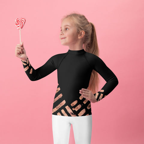 Imperfect Clizia Copper Kids Rash Guard