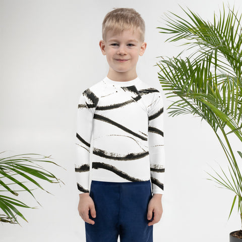 Imperfect Wave Kids Rash Guard