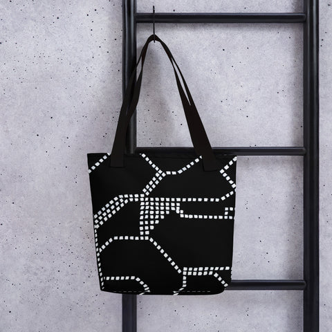 Imperfect Clizia Metro Black Tote bag