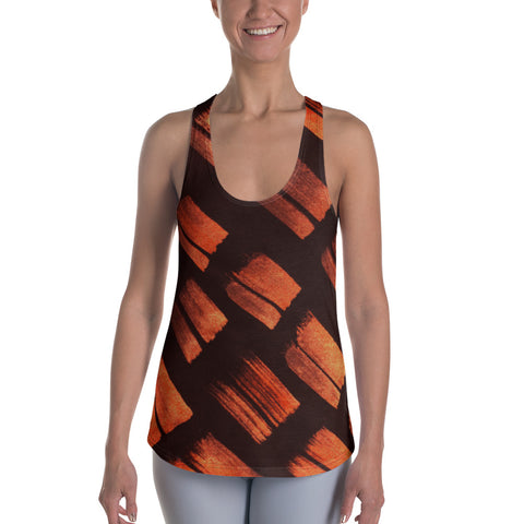 Imperfect Copper Women's Racerback Tank