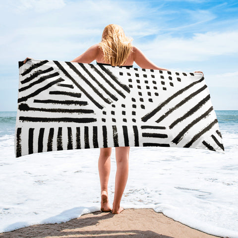 Imperfect beach Towel