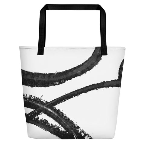 Imperfect Waves Beach Bag
