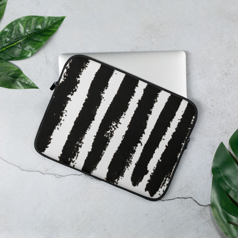 Imperfect Zebra Laptop Sleeve