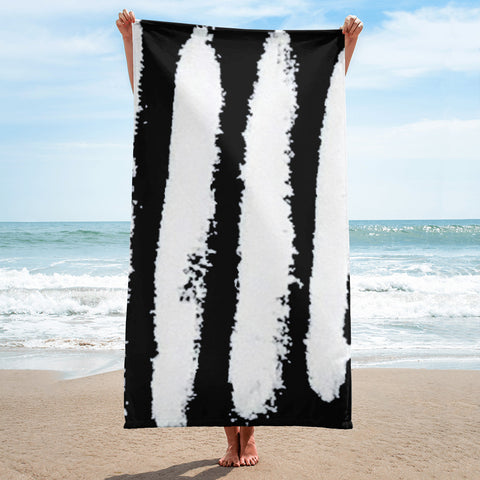Imperfect Zebra Towel