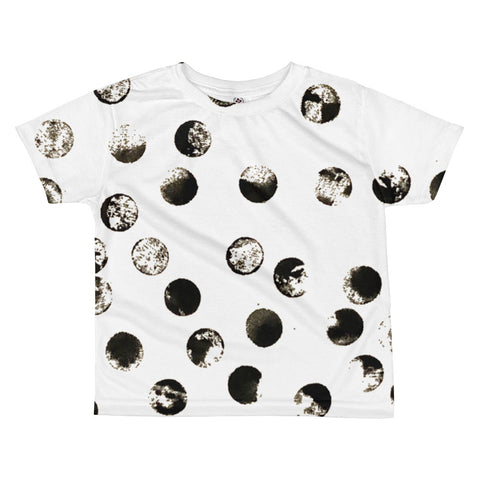Imperfect dots All-over kids sublimation T-shirt