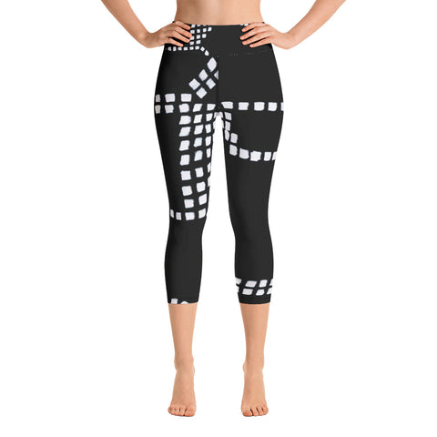 Imperfect Clizia Metro Yoga Capri Leggings