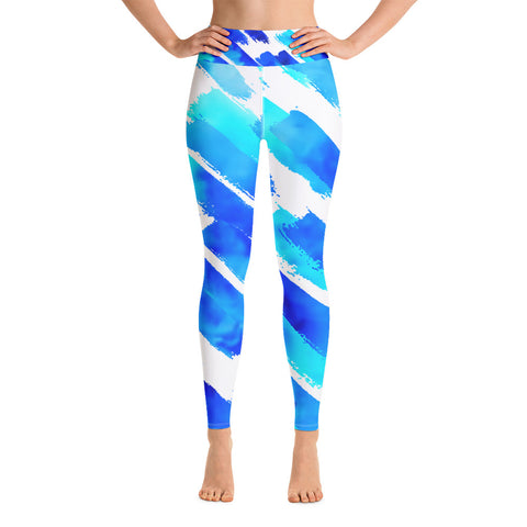 Clizia Kolor Yoga Leggings - Aqua