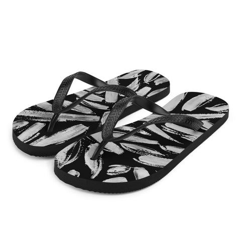 Imperfect Leaves Flip-Flops