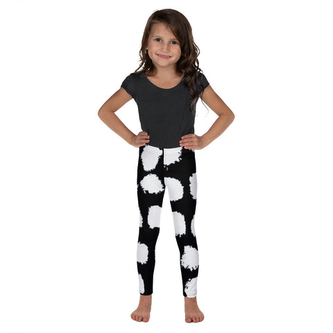 Imperfect Black Dots 1 Kid's Leggings