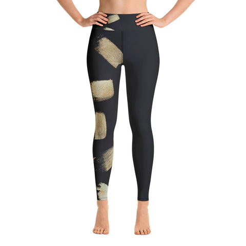 Imperfect Gold 3 Yoga Leggings
