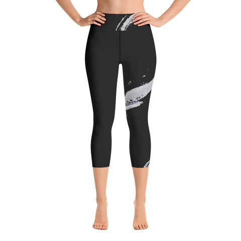 Imperfect Symmetry 1 Yoga Capri Leggings