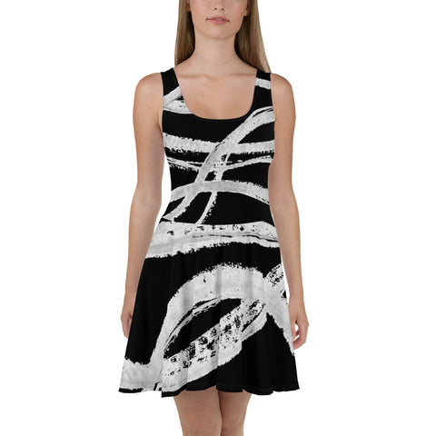 Imperfect Clizia Flow Skater Dress