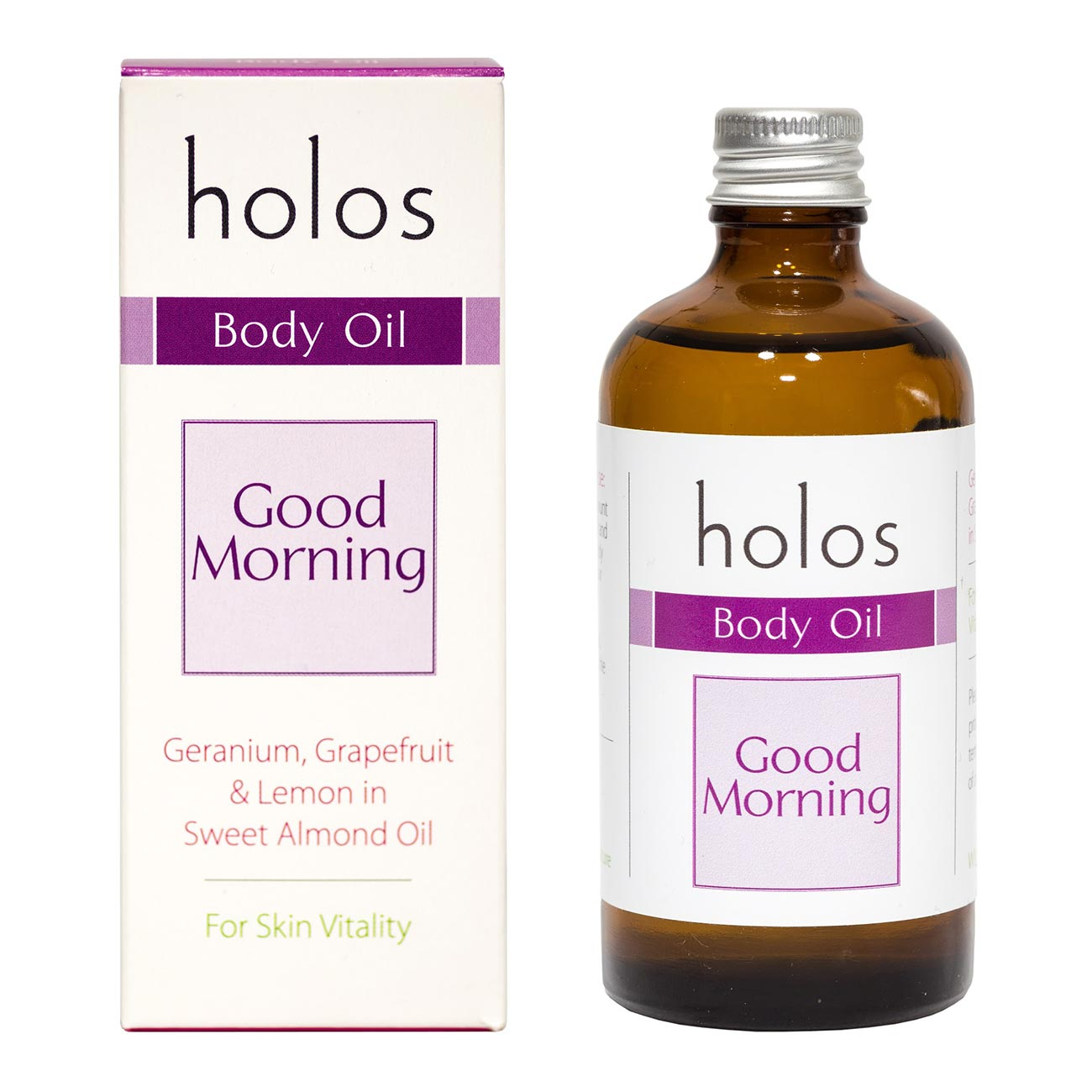 Holos Good Morning Body Oil 100ml