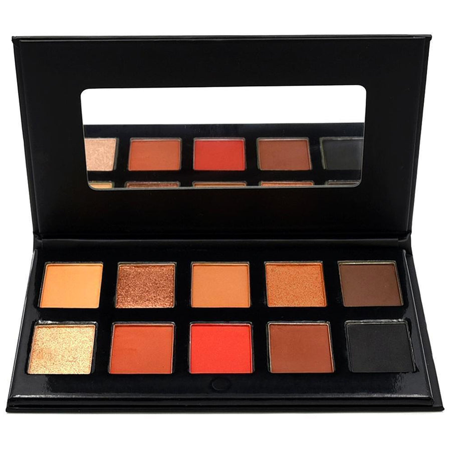 Crown Brush 10 Colour Temptation Eyeshadow Palette