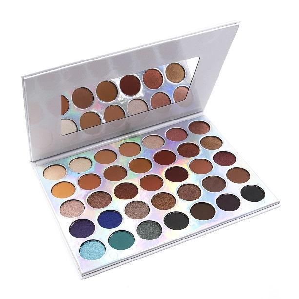 Crown Brush 35 Colour OMG Eyeshadow Palette