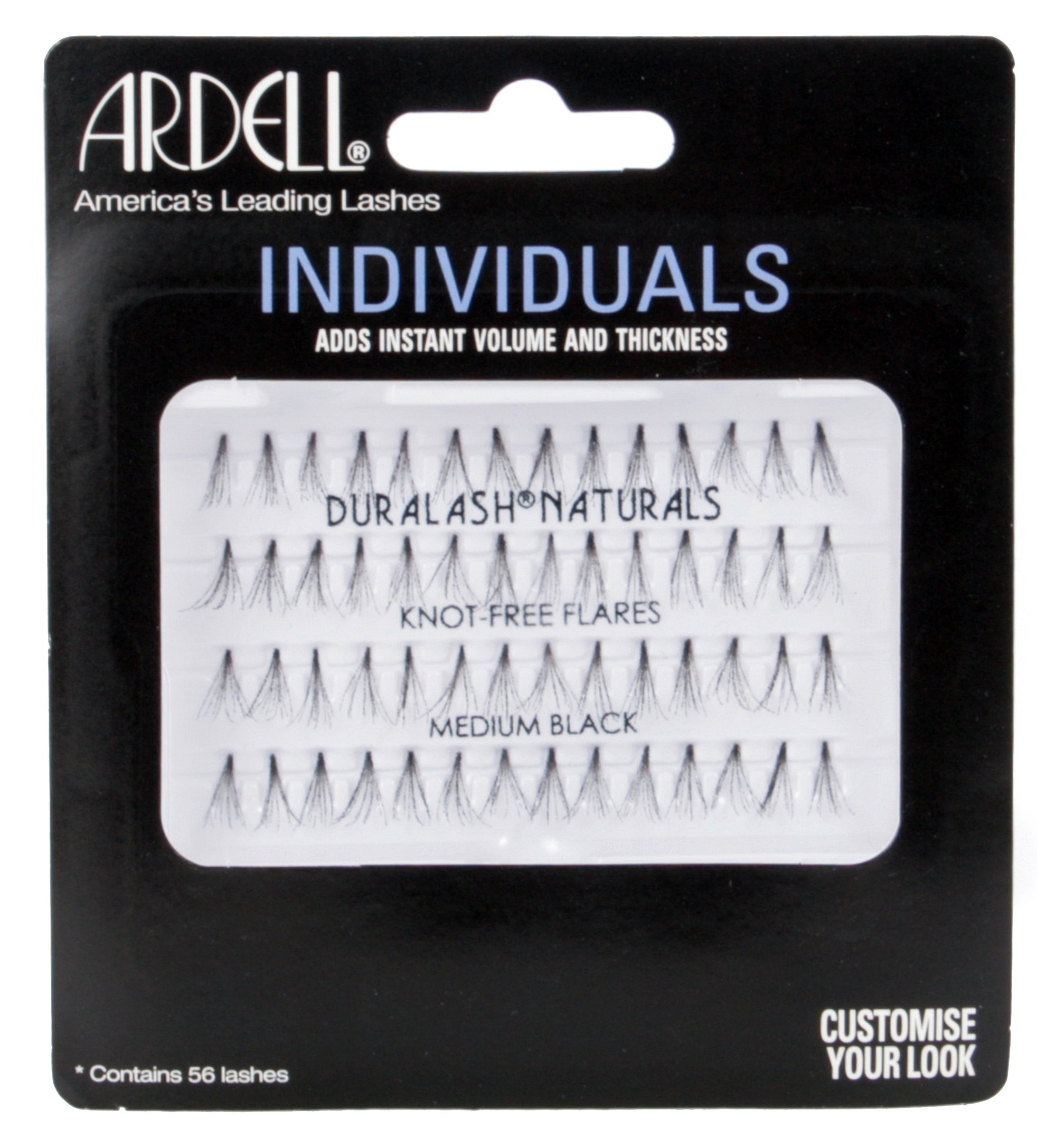 Ardell Individuals Lashes - Duralash Knot- Free Medium Black