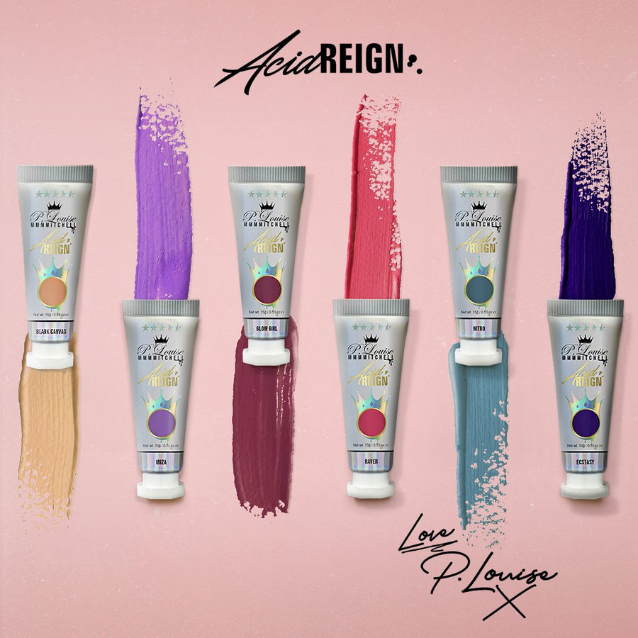 P.Louise & MMMMitchell Acid Reign Paint - Ibiza - Pastel Purple