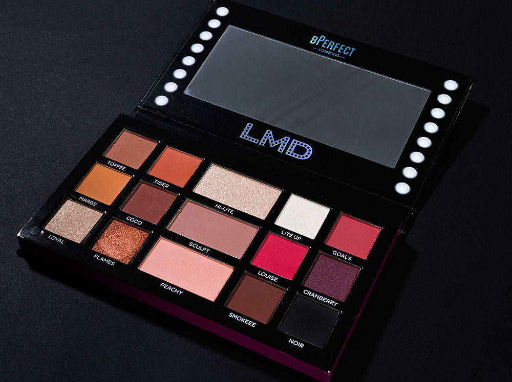 BPerfect Cosmetics LMD Louise McDonnell Master Palette Remastered