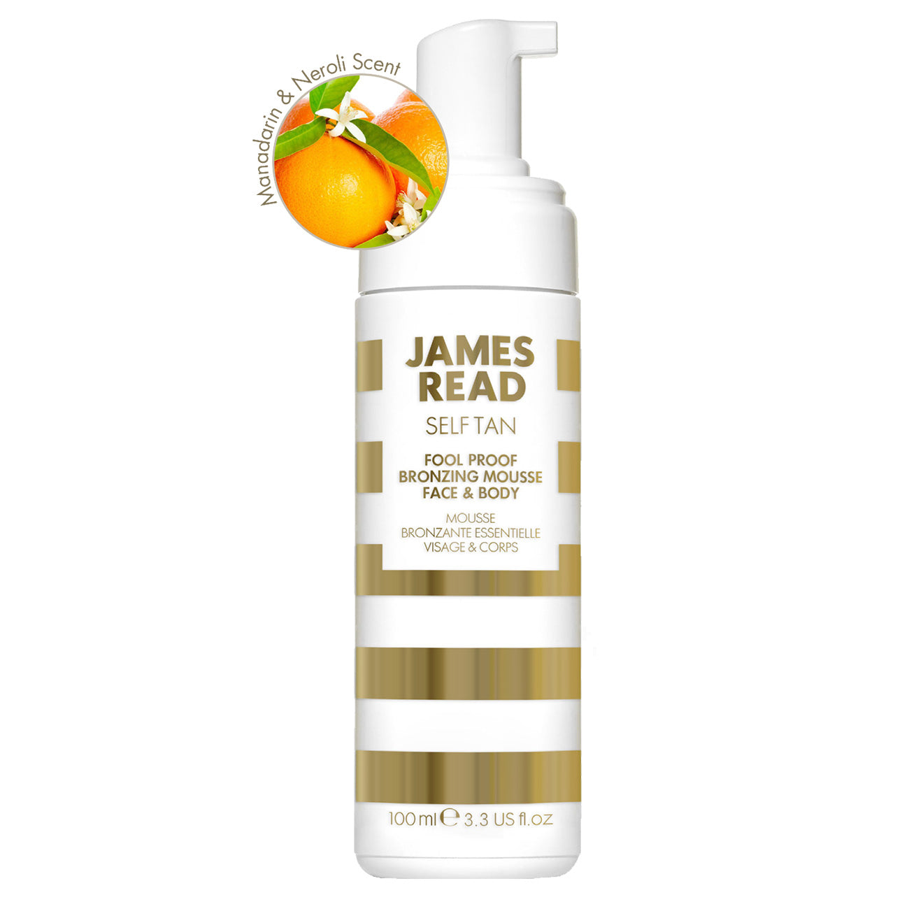 James Read Foolproof Bronzing Mousse Face and Body Light / Medium 100ml