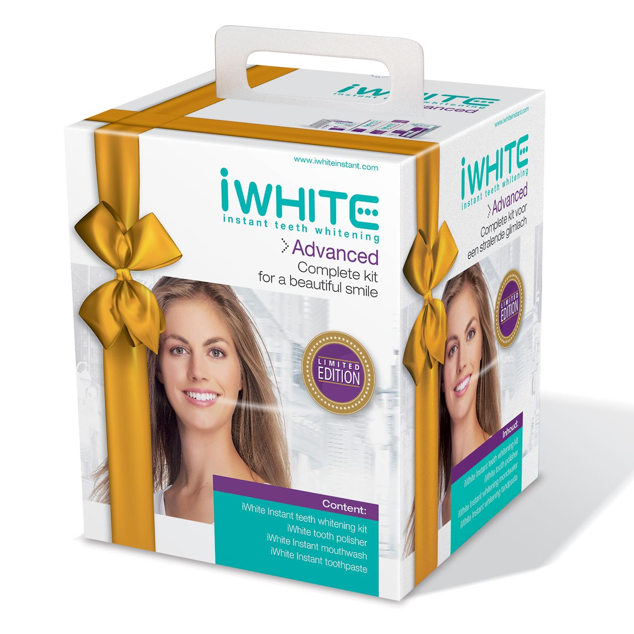 iWhite Instant Teeth Whitening - Advanced Complete Kit