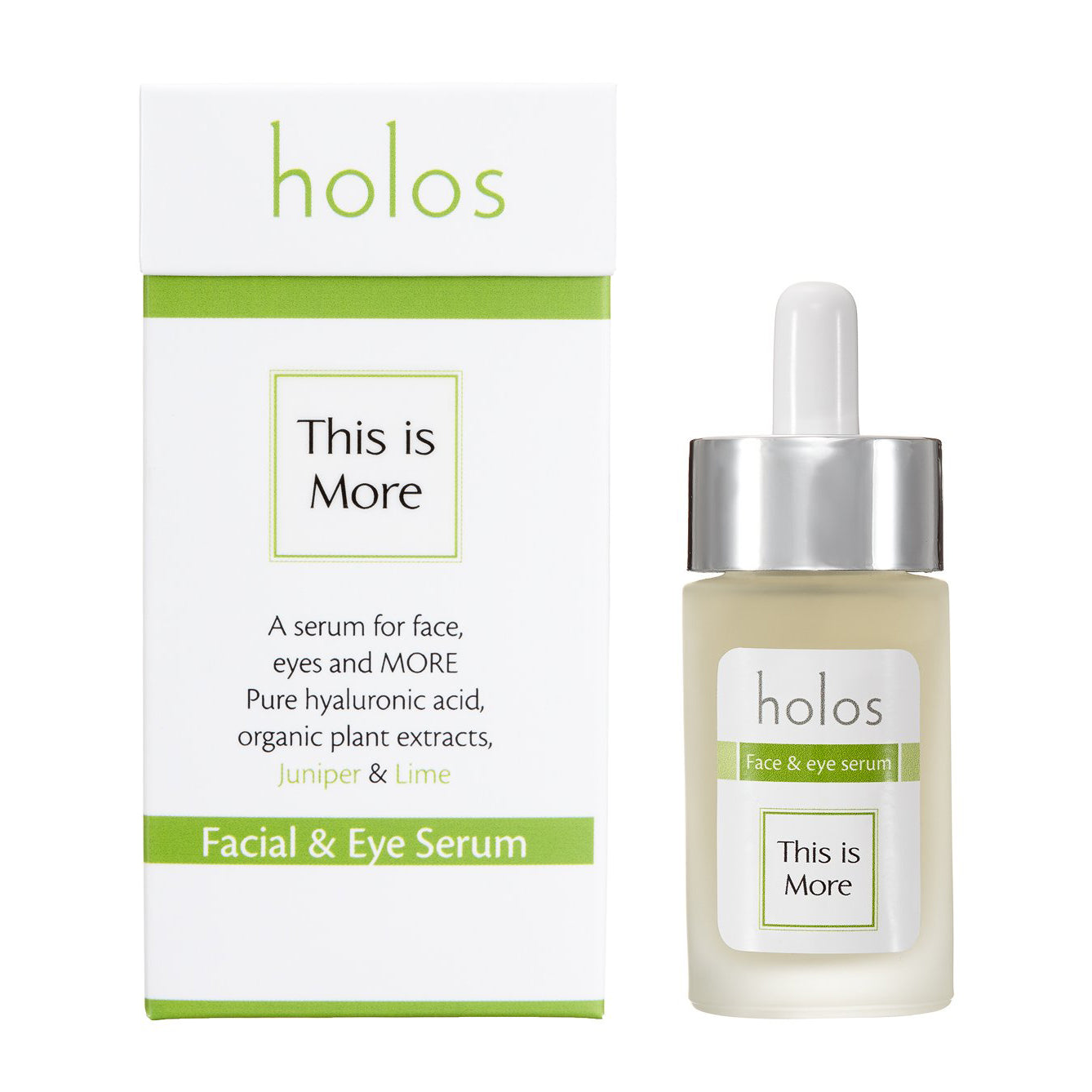 Holos This Is More Facial And Eye Hyaluronic Acid Serum 30ml