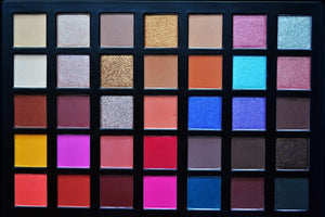 Crown 35 Colour City Lights Eyeshadow Palette