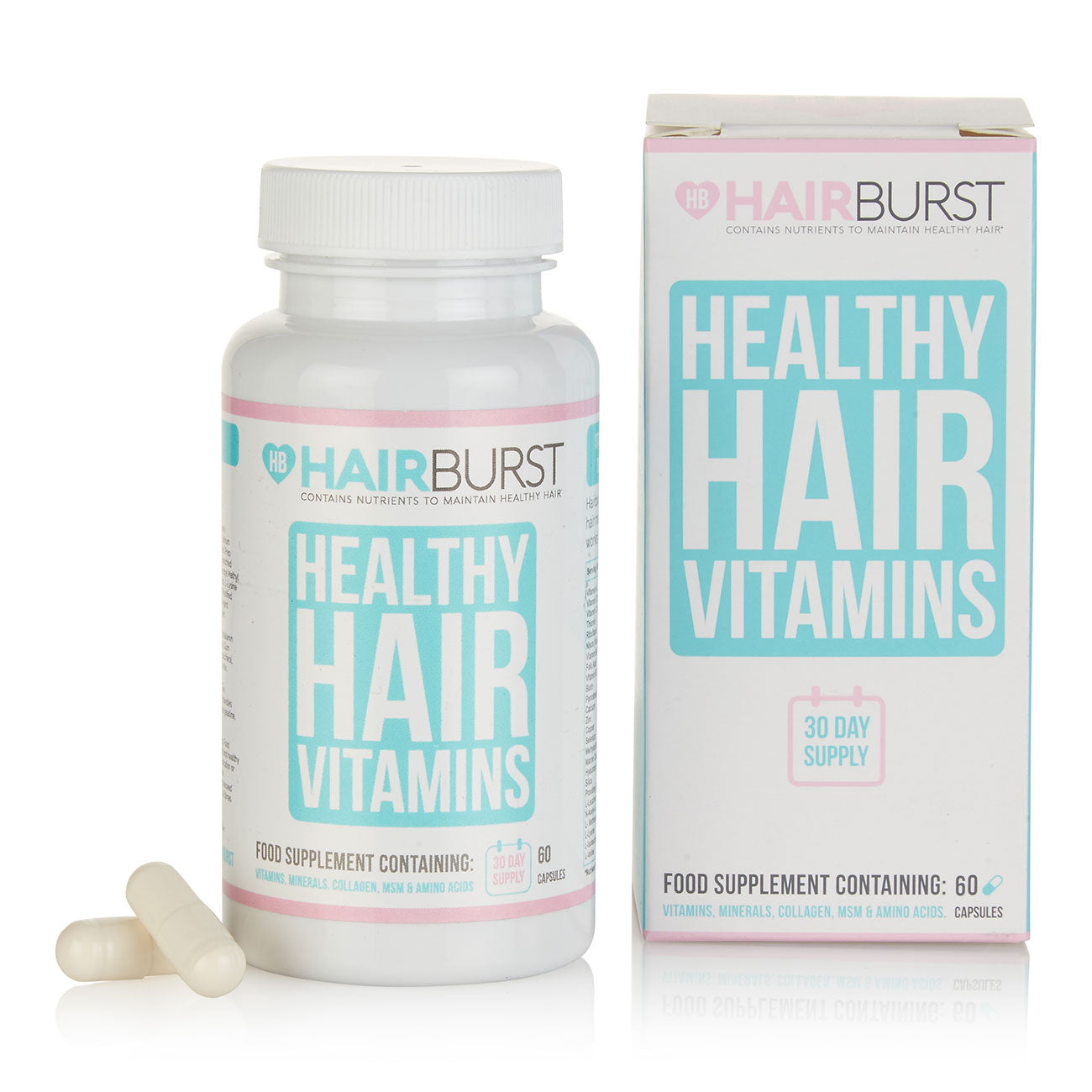 Hairburst Healthy Hair Vitamins 60 Capsules (30 day supply)