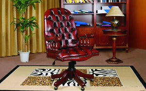 PRESIDENT'S OFFICE CHAIR - Classic Chesterfield