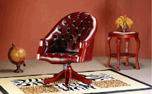 WINDSOR OFFICE CHAIR - Classic Chesterfield