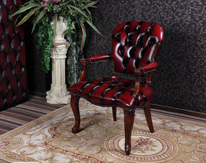 QUEEN ANNE CHAIR CHESTERFIELD - Classic Chesterfield