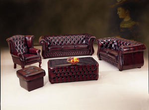 3 Pce Set Dunhill Chesterfield (Online Package deal) - Classic Chesterfield