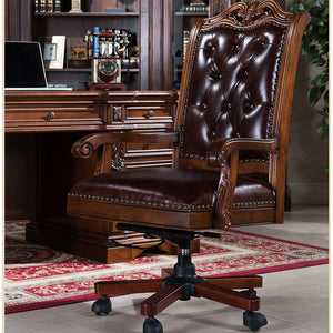 PRESIDENTIAL OFFICE CHAIR - Classic Chesterfield