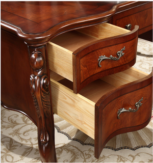 NEW QUEEN ANNE STUDY DESK - Classic Chesterfield