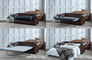 SPENCER SOFA BED CHESTERFIELD