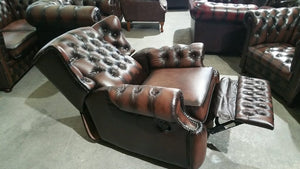 CHESTERFIELD RECLINER CHAIR