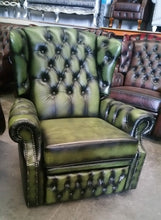 Load image into Gallery viewer, CHESTERFIELD RECLINER CHAIR
