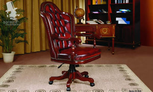 KENT OFFICE CHAIR - Classic Chesterfield