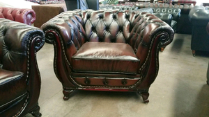 THE SHELL LIBERTY CHESTERFIELD - Classic Chesterfield