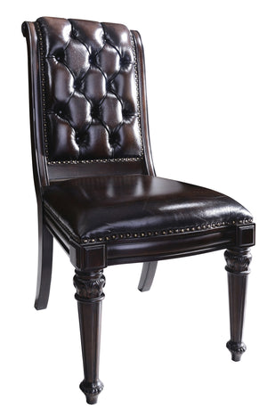 MILANO DINING CHAIR CHESTERFIELD - Classic Chesterfield
