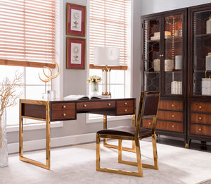DE ORO STUDY DESK - Classic Chesterfield