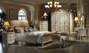 FLORENCE CHESTERFIELD BED - Classic Chesterfield