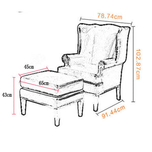 WINDSOR WING CHAIR CHESTERFIELD