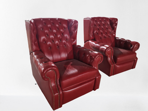 PREMIER RECLINER - Classic Chesterfield