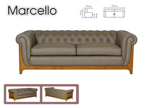 MARCELLO CHESTERFIELD - Classic Chesterfield