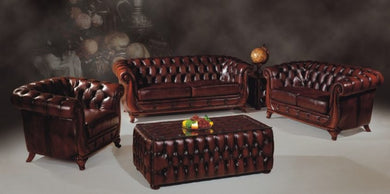 SHELL LIBERTY CHESTERFIELD 3 Pce Set